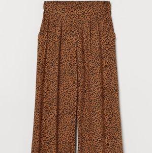 H & M Leopard Print Pants